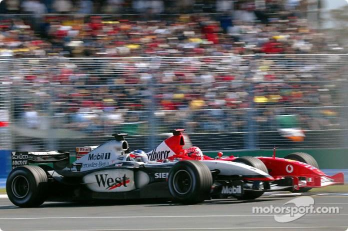 Kimi Raikkonen, McLaren MP4/17D (2003)