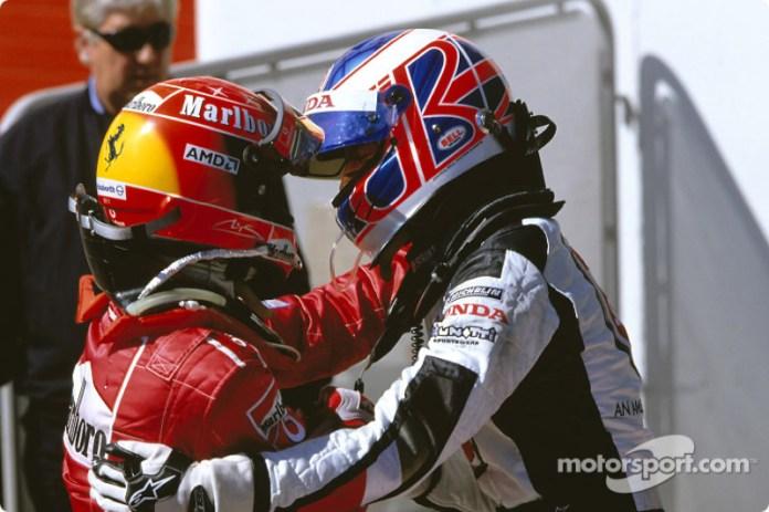 85: Jenson Button, BAR-Honda