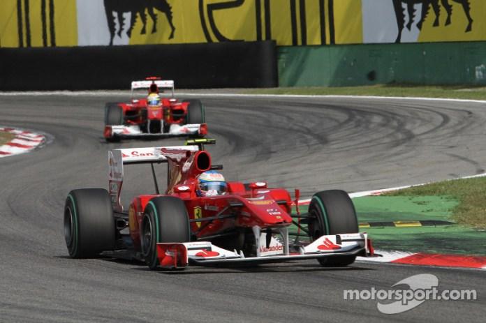 Ferrari F10 - 5 victorias
