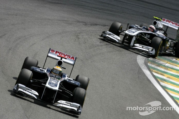 Rubens Barrichello, Williams-Cosworth FW33, 2011