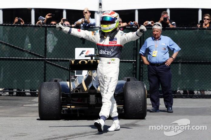 GP de Canadá 2012 (Sauber)-3° lugar