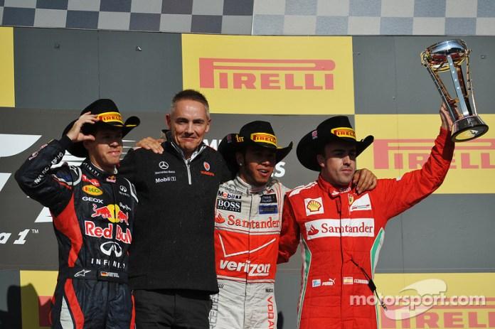 87- Fernando Alonso, 3º en el GP de Estados Unidos 2012 con Ferrari