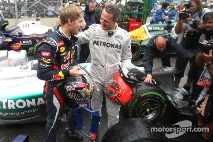Aunque no llegó a ganar ninguna carrera con ellos, Michael Schumacher ayudó a sembrar la semilla de lo que es en la actualidad el equipo Mercedes, con el que disputó su última carrera en la Fórmula 1 a principios de esta década, en Brasil 2012, el día que Vettel se hizo tricampeón del mundo.