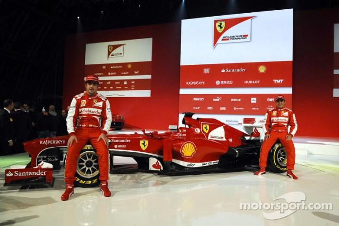 Presentación de la Ferrari F138 de 2013