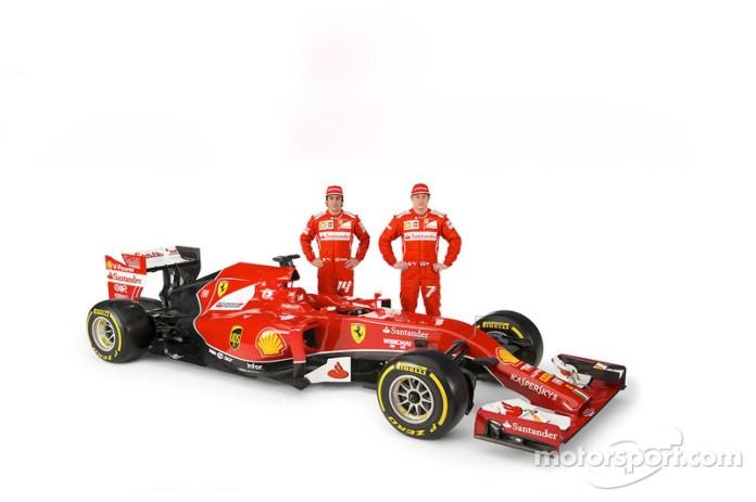 Presentación de la Ferrari F14 T de 2014