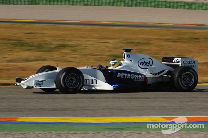 Nick Heidfeld, BMW Sauber F1 Team F1.06, 2006