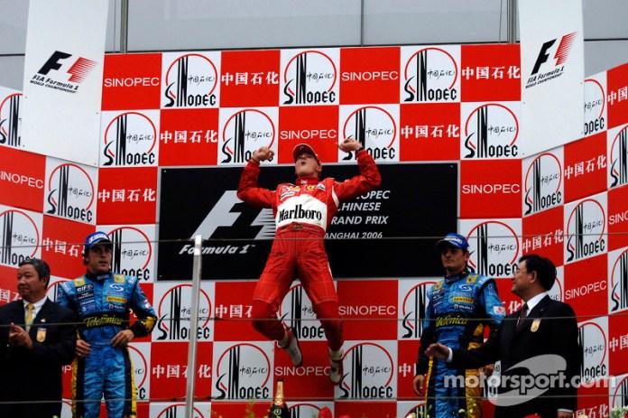 Mayor número de victorias en la F1: 91