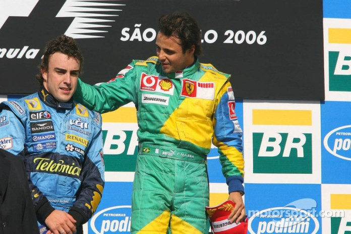 39- Fernando Alonso, 2º en el GP de Brasil 2006