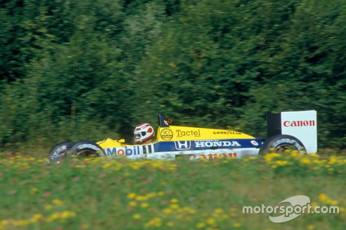 El tercer título de Piquet tras K.O de Mansell
