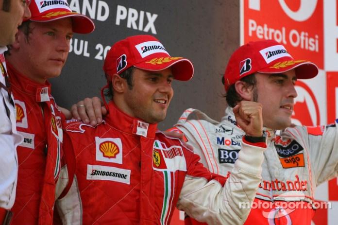 47- Fernando Alonso, 3º en el GP de Turquía 2007 con McLaren
