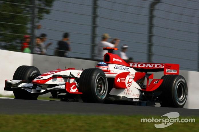 Super Aguri F1 SA07 y Honda RA106