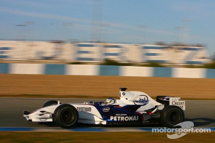 Nick Heidfeld, BMW Sauber F1 Team, F1.07, 2007