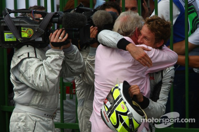 Jenson Button, Brawn GP y su padre John