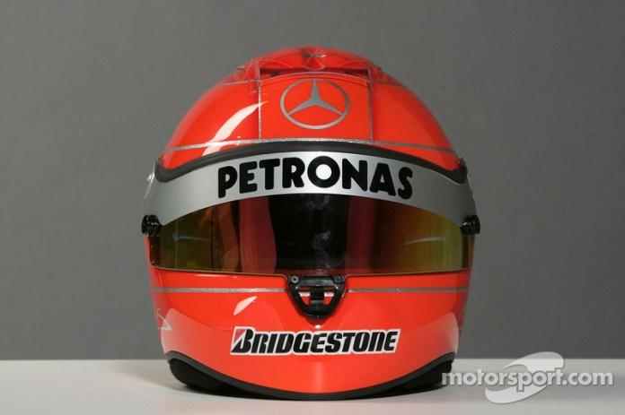 Casco de Michael Schumacher