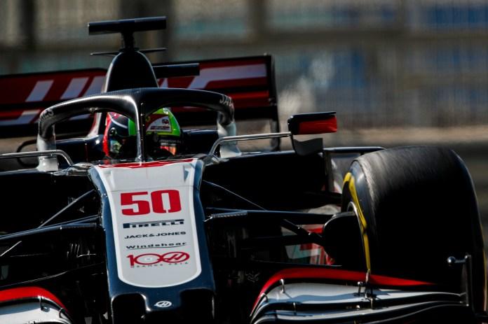 Mick Schumacher Abu Dhabi F1 provë 2020