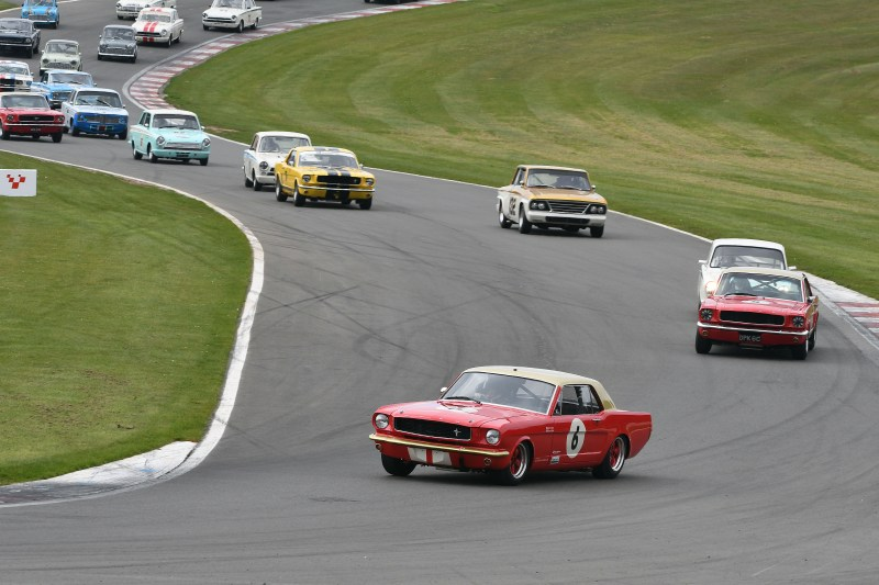 Masters Historic Festival at Donington Park