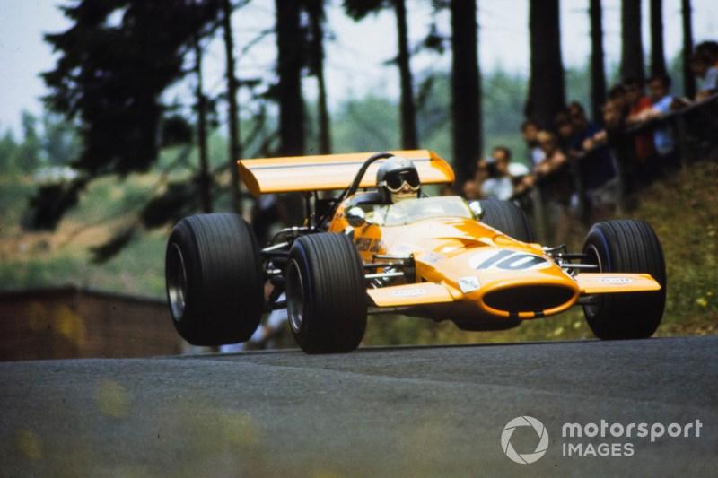 Bruce McLaren, McLaren M7C Ford.
