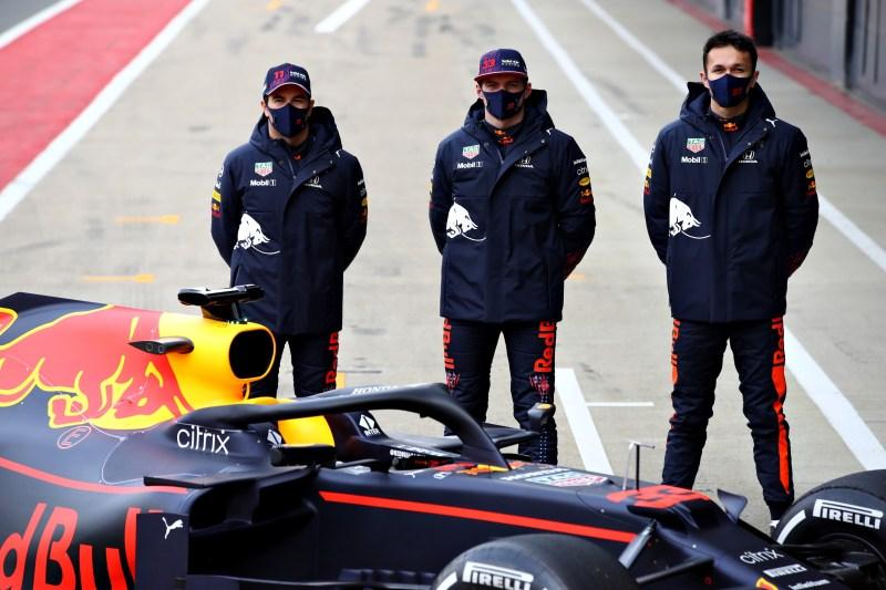 Perez, Verstappen, Albon 2021