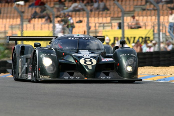 Bentley Speed 8 at the 2003 Le Mans 24 Hours