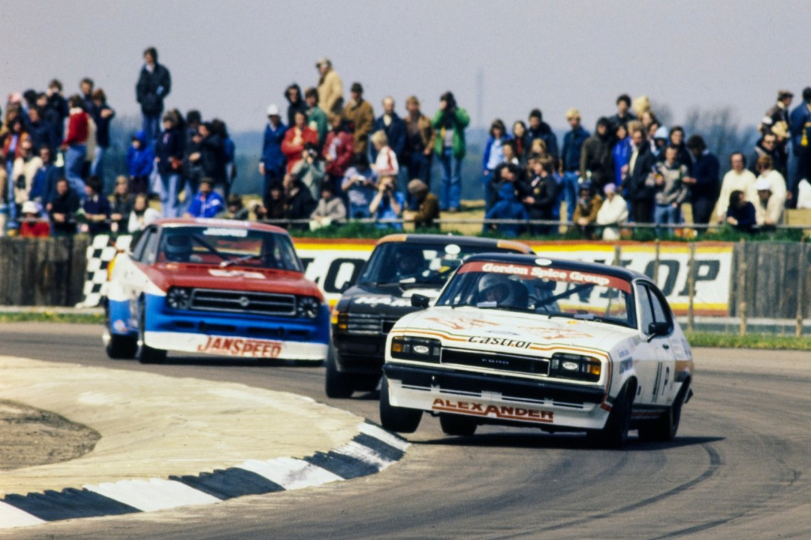 Spice was dubbed 'the Capri king' for his prowess in the Ford saloon in the BSCC - though never won the outright title