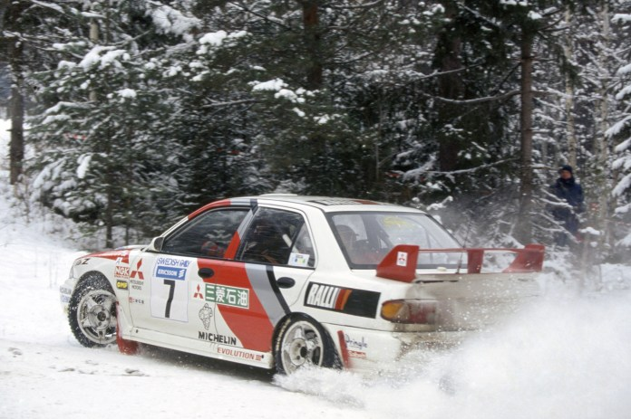 Victory in Sweden got the ball rolling on Makinen's season and he was never headed in the points thereafter