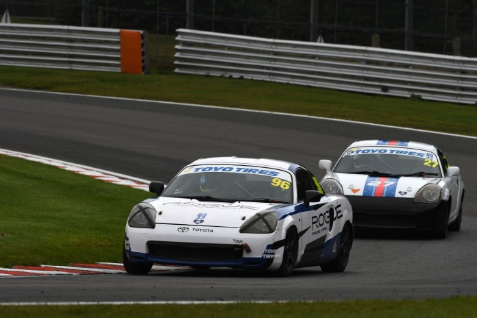 Cooke defeated fellow Mk3 racer Traynor to land MR2 crown