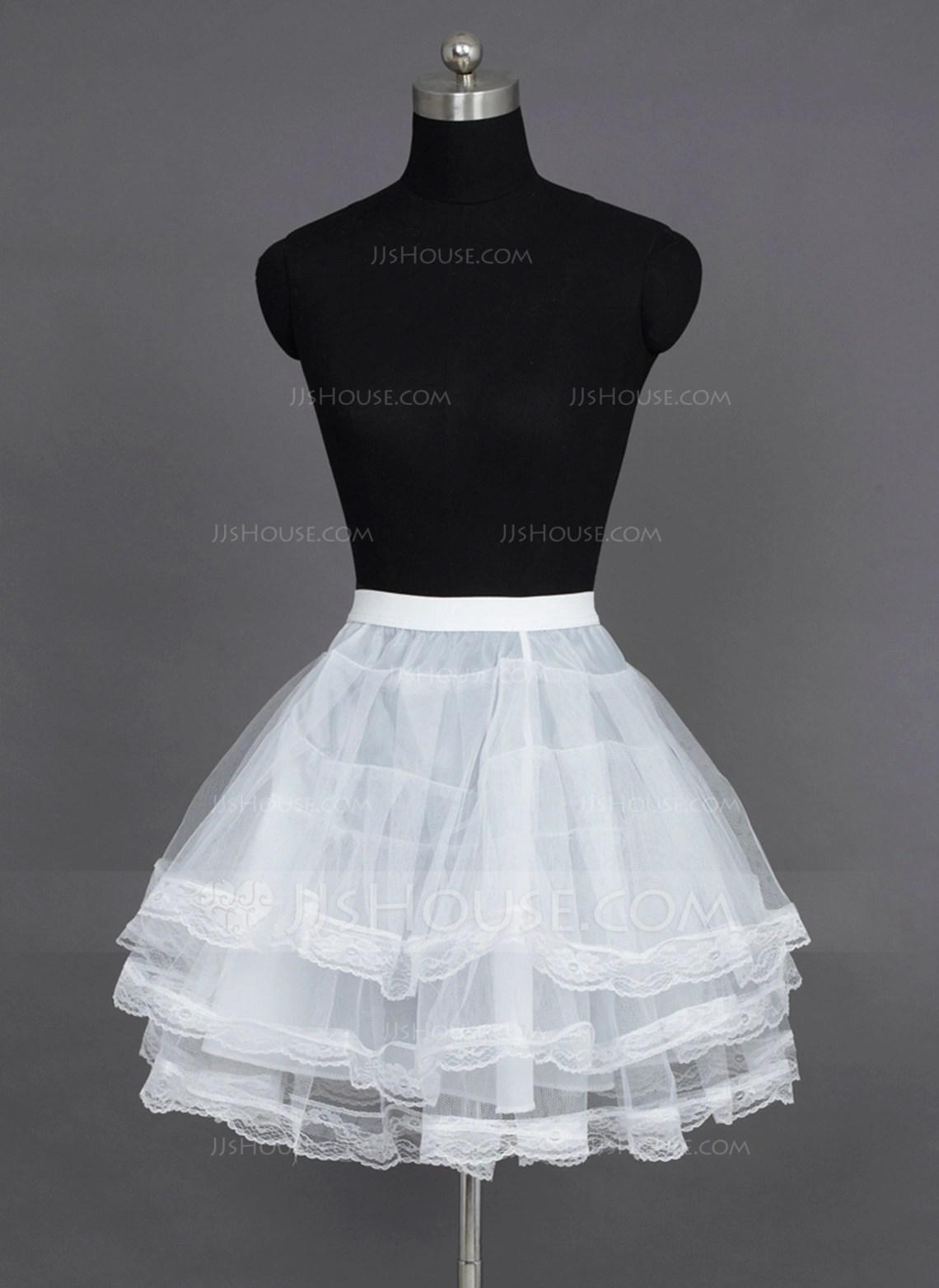 TulleNylon A Line SlipFull Gown Slip 198076204