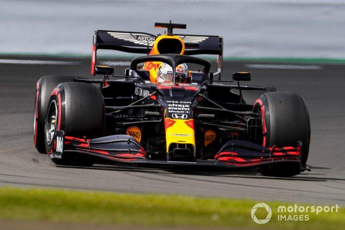 P3 Max Verstappen, Red Bull Racing RB16