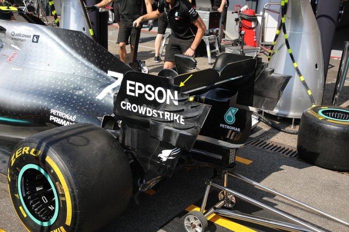 Mercedes AMG F1 W10 technical detail