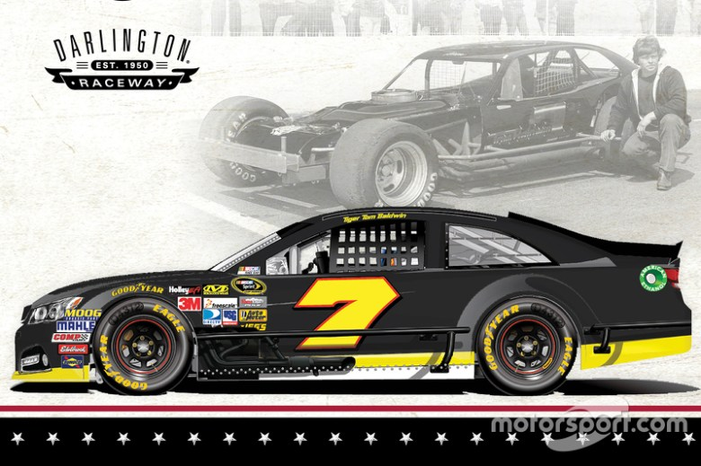 NASCAR goes back in time with retro paint schemes at Darlington