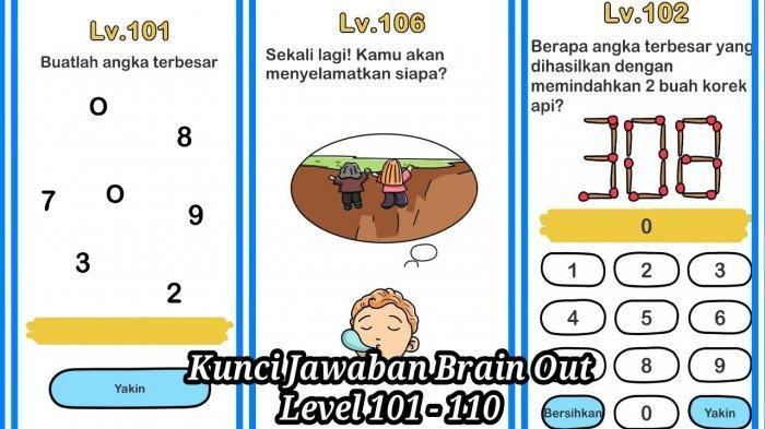 Lengkap kunci jawaban brain test dari level 31, 32, 33, 34, 35, 36, 37, 38, 39 sampai level 40. Kunci Jawaban Game Brain Out Di Setiap Level Kunci Jawaban Brain Out 1 225 Tribun Pekanbaru
