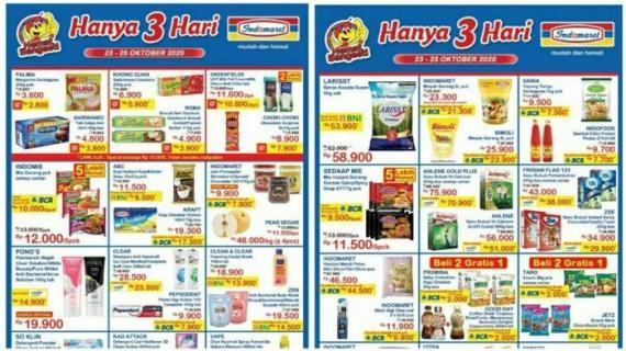 Katalog Promo Indomaret Jsm 23 25 Oktober 2020 Minyak Goreng Murah Nasi Jajan Cuma 3 Hari