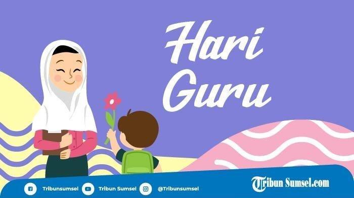 Hari Guru Nasional Jatuh Pada 25 November Bersamaan Lahirnya PGRI, Simak Latar Belakang dan Faktanya
