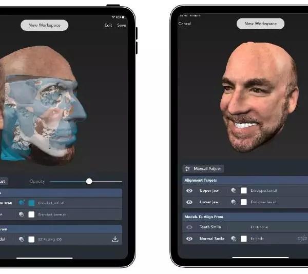 Приложение для сканирования лица Dental Pro 3D - Dental ...