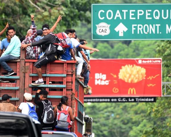Muchos migrantes pidieron a Trump que les dé la oportunidad de una nueva vida en Estados Unidos.<br/>