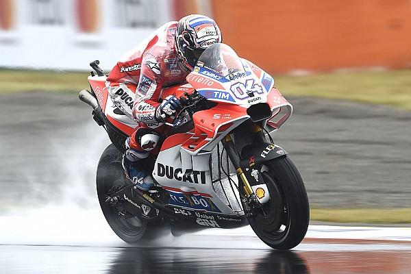 Dovizioso tops FP2, Marquez crashes motogp japanese gp 2017 andrea dovizioso ducati team 5885573