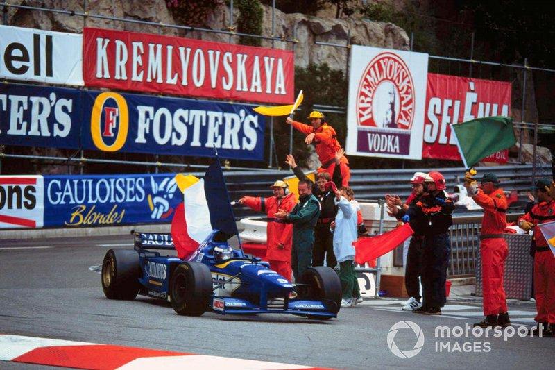 Race winner Olivier Panis, Ligier JS43