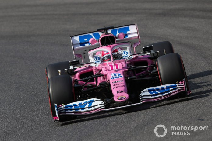 P8 Sergio Pérez, Racing Point RP20 (Penalizado)