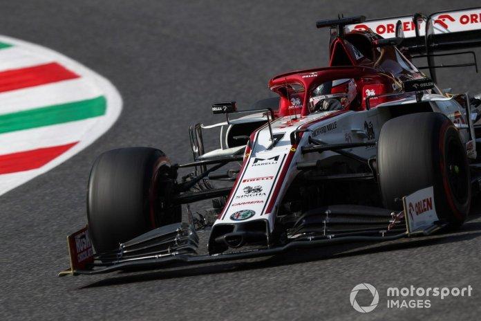P13 Kimi Raikkonen, Alfa Romeo Racing C39