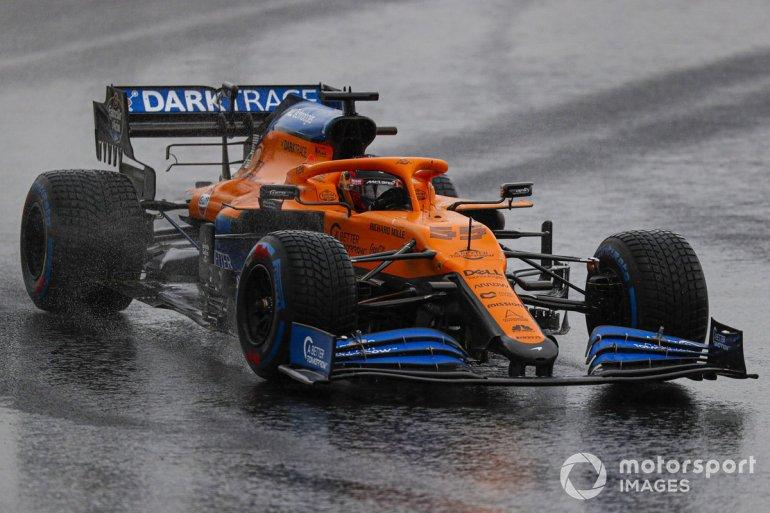 P13 Carlos Sainz Jr., McLaren MCL35