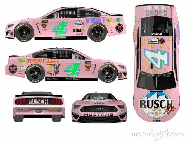Kevin Harvick, Stewart-Haas Racing livery unveil