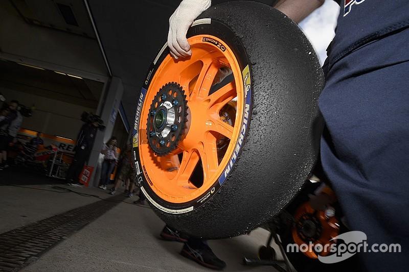 La Michelin porta le gomme anteriori asimmetriche a Valencia