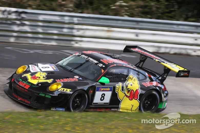 #8 Haribo Racing Team, Porsche 911 GT3 R: Norbert Siedler, Uwe Alzen, Mike Stursberg at VLN: round 7