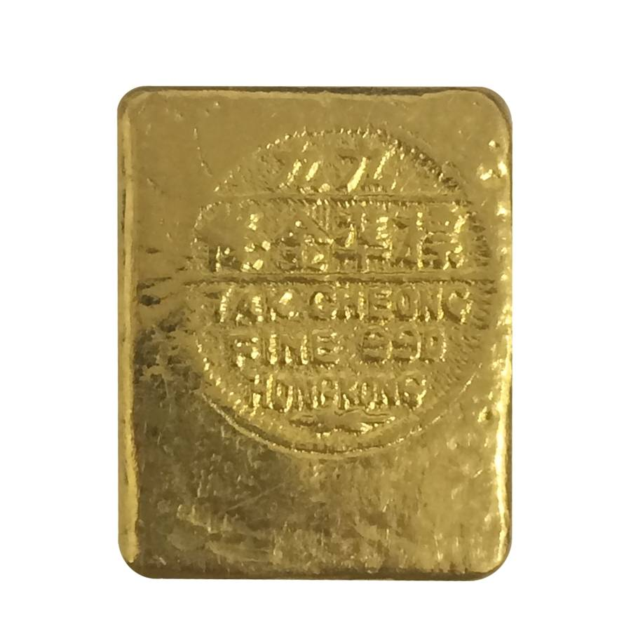 12057 Oz Chinese Tak Cheong Gold Biscuit Bullion Exchanges