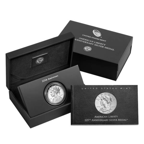 2017 P 1 oz American Liberty High Relief Proof Silver Medal