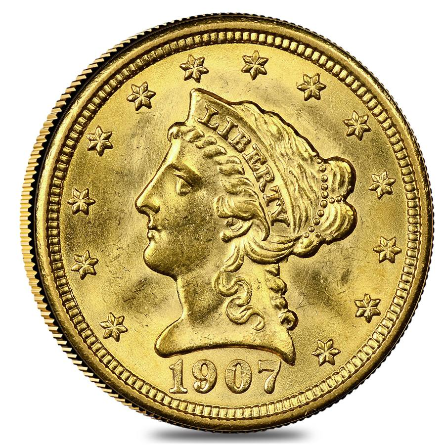 1907 Dollar 1 Coin 2 Gold 2