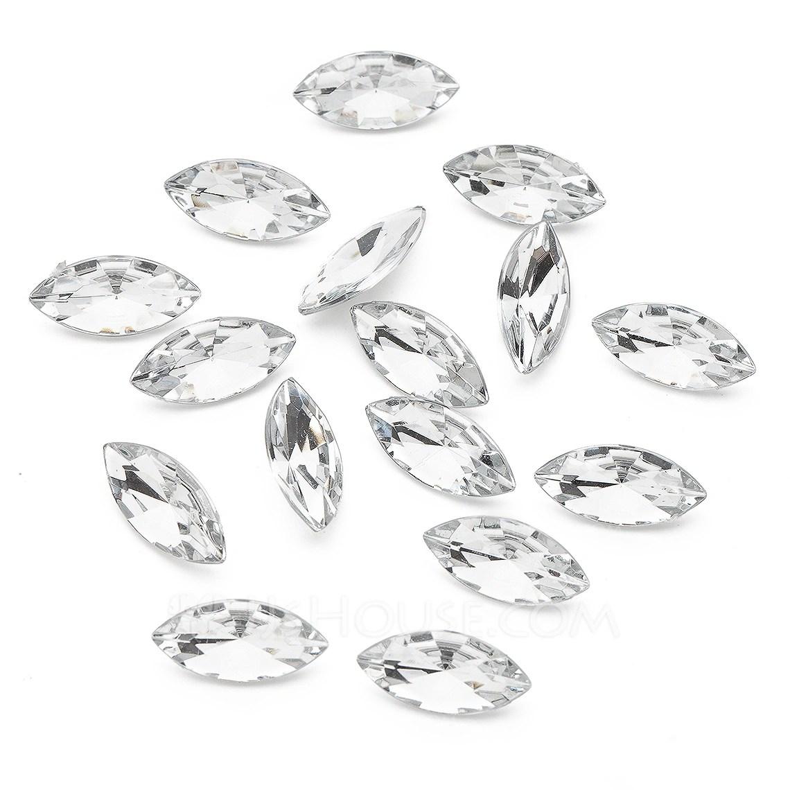 Bright Acrylic Diamond Pieces Bag Of 266