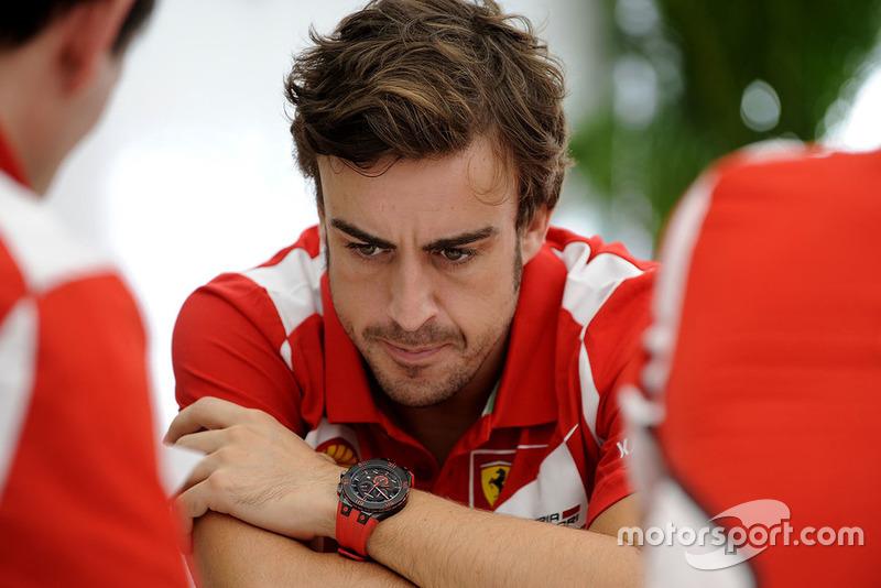 """Fernando Alonso, Ferrari  Divisive Alonso """"overrated"""" in terms of F1 achievements fernando alonso ferrari 1"""