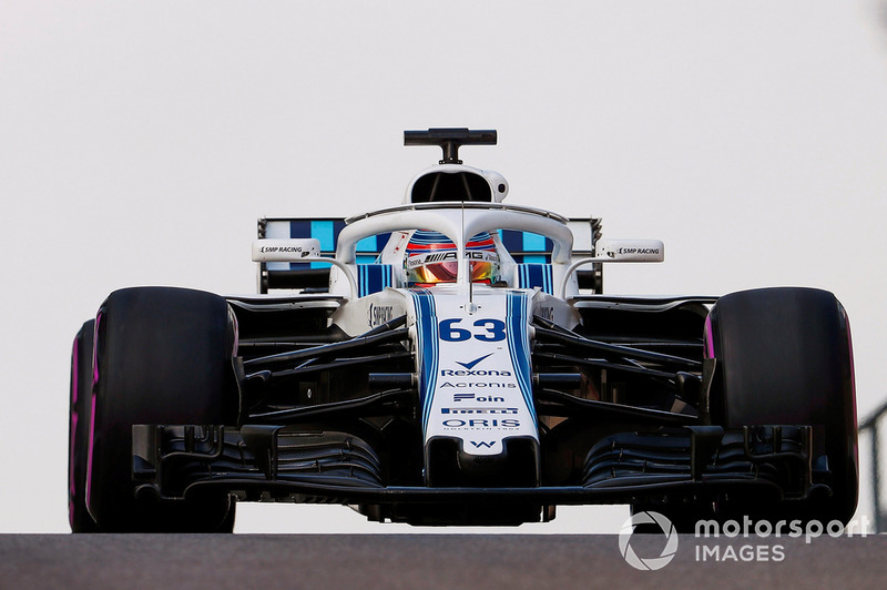 Williams Racing  F1 2019 driver and team line-ups george russell williams fw41 1