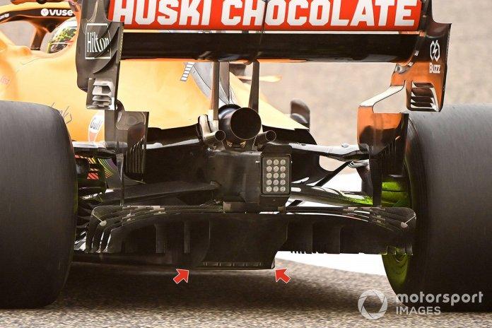 Detaje të shpërndarësit McLaren MCL35M